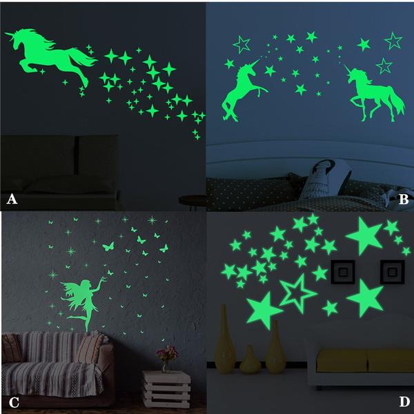 horse, pony, luminousunicorn, 3ddiywallsticker