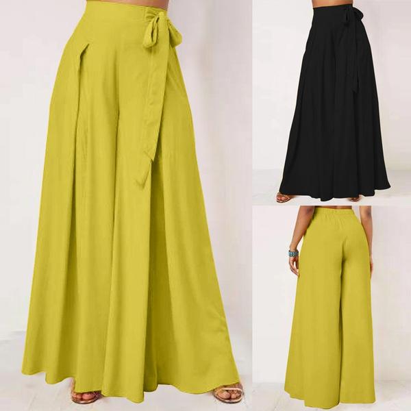 Women Pants, beltedpant, Plus Size, Waist