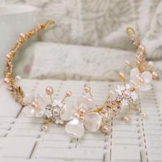 womentiara, Jewelry, bridalheaddres, pearls