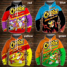 hooded, Shirt, cheetoshoodie, cartoon3dhoodie