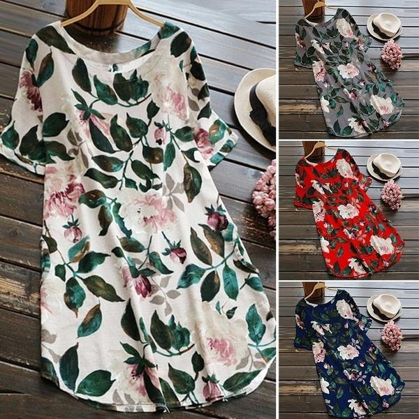 Mini, womens dresses, leaf, short dress