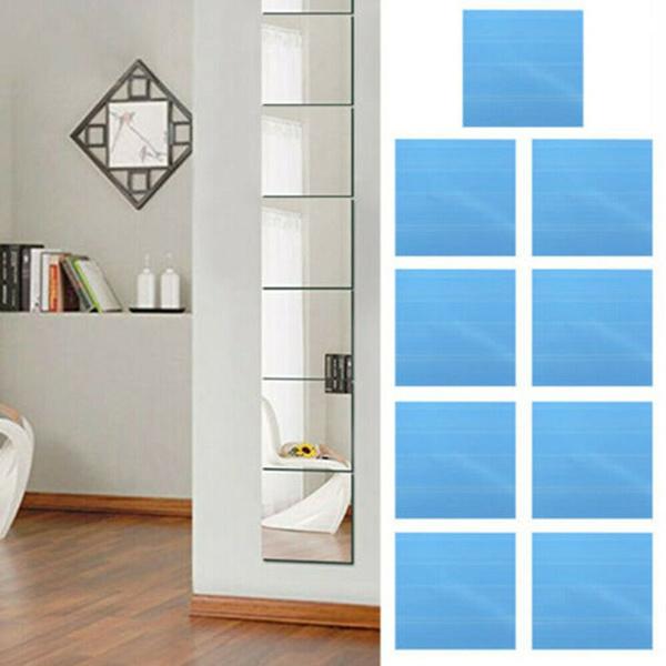 mirrortilessticker, Home Decor, reflectivesticker, Stickers