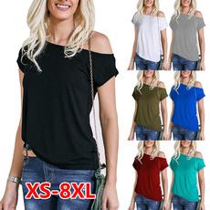 Summer, off shoulder top, Plus size top, womens top
