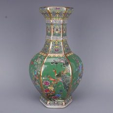 Antique, Home & Kitchen, Flowers, Chinese