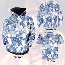 Hoodies, Coat, Casual, Print