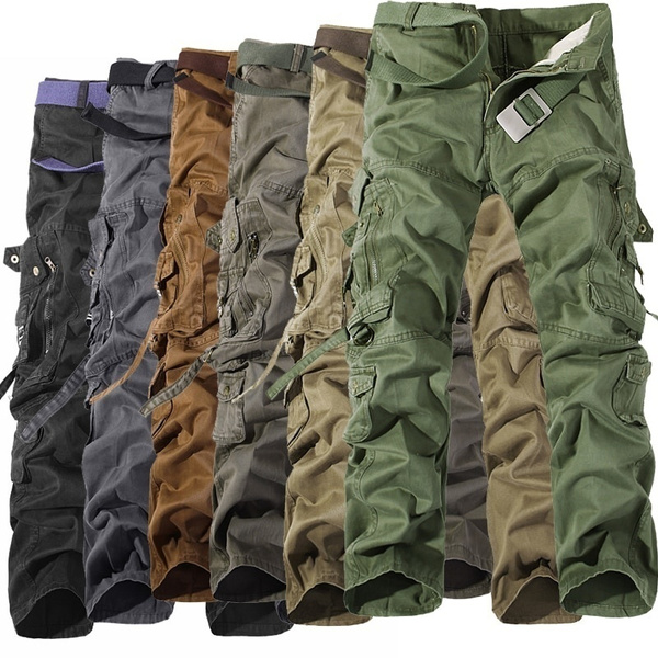 trousers, Casual pants, Pleated, armypant