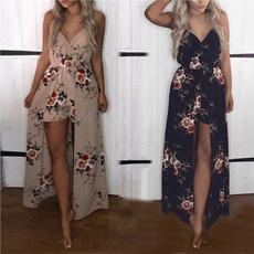 Shorts, Irregular, long dress, Vintage