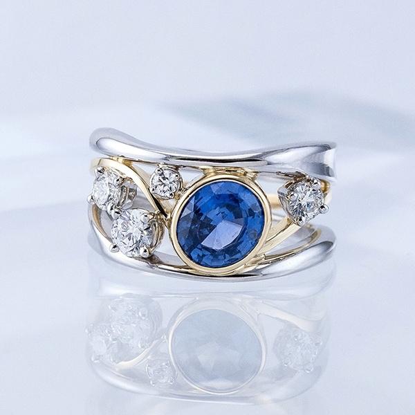 Sterling, Sterling Silver Jewelry, DIAMOND, wedding ring