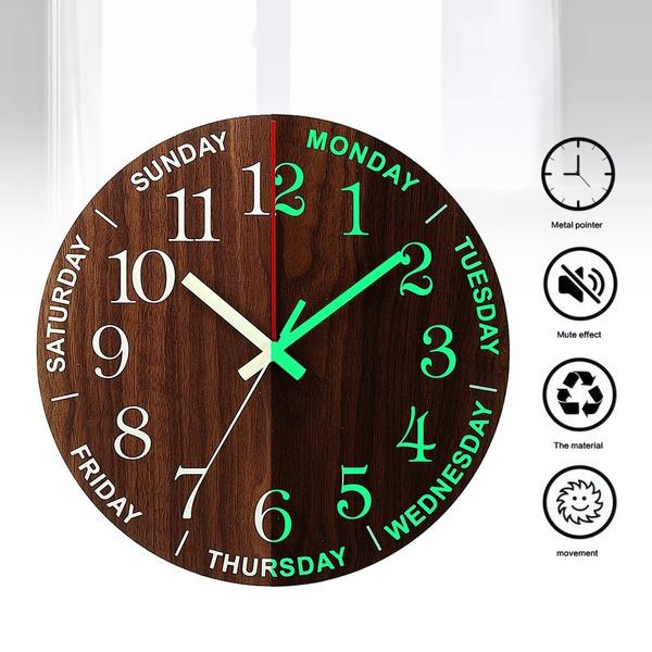 Decor, quartz, silentwallclock, Clock