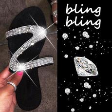 Flip Flops, Sandals, Women Sandals, bling bling