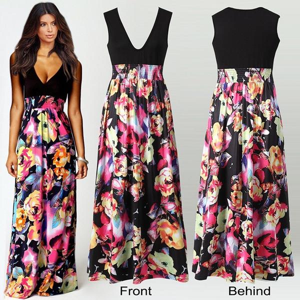 Summer, Plus Size, Swing dress, Dress