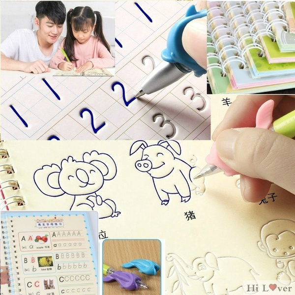 childbook, pencil, School, Magic