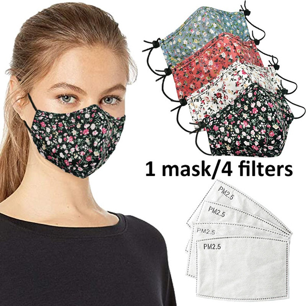 Women, Cotton, dustproofmask, mouthmask
