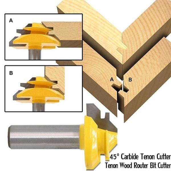woodworkingcutter, grooverouterbit, Design, woodtenon