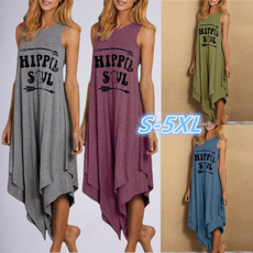 Summer, plus size hippie dresses, Plus Size, hippie