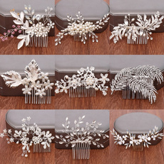 Combs, leaf, Jewelry, Wedding Accessories