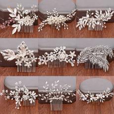 Combs, leaf, Joyería, Accesorios de boda