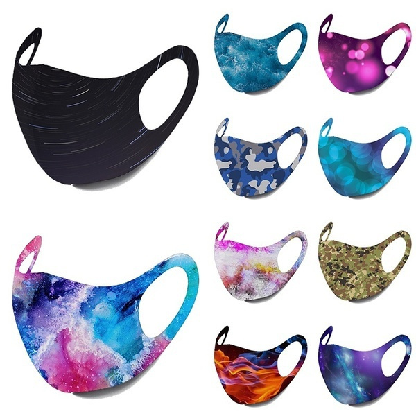 Cotton, Breathable, Masks, unisex