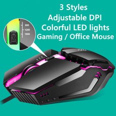 rainbow, usbmouse, led, mousegaming