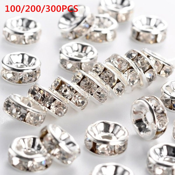 8MM, beadspacer, rondellespacerbead, Jewelry