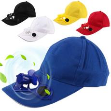 Baseball Hat, Funny, solarpowercap, withcoolingfan