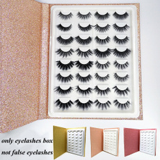 case, Box, lashescontainer, bookshape