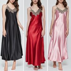 sleeveless, nightgownsdres, dressesforwomen, long dress