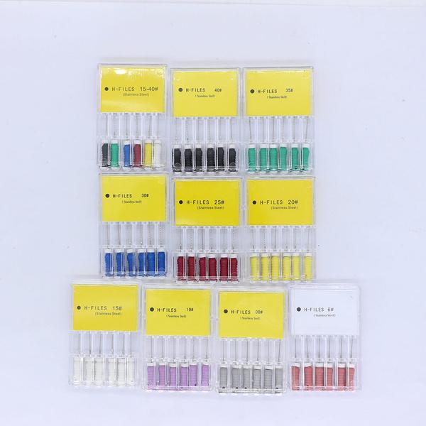 dentalendodonticmaterial, workindentistclinic, stainlesssteelhfile, dentalproduct