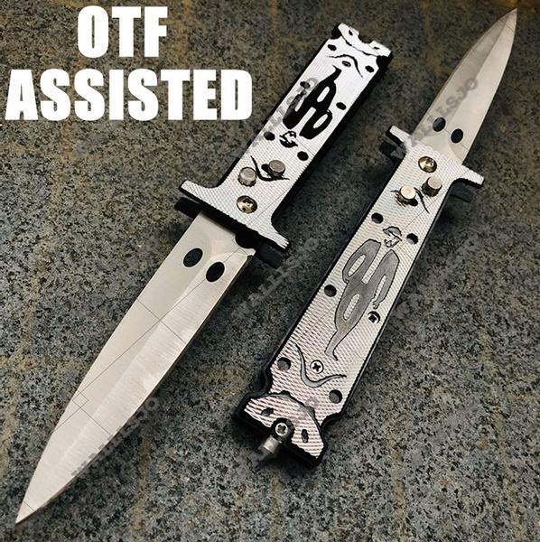 pocketknife, junglesurvivalknife, dagger, Spring