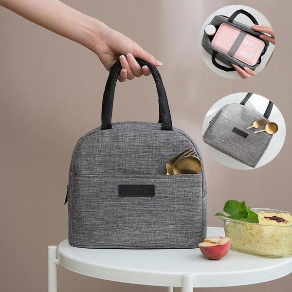 lunchpouchinsulatedcoolerbaghandbag, bentoboxe, School, Totes