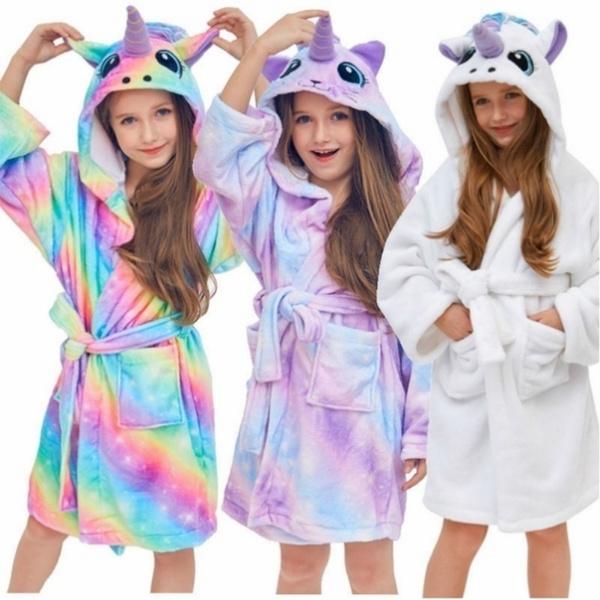 Fleece, childrenspajama, Cosplay, unicornrobe