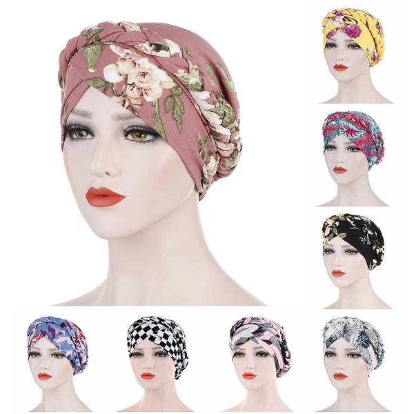 Braids, Head, Fashion, Floral print