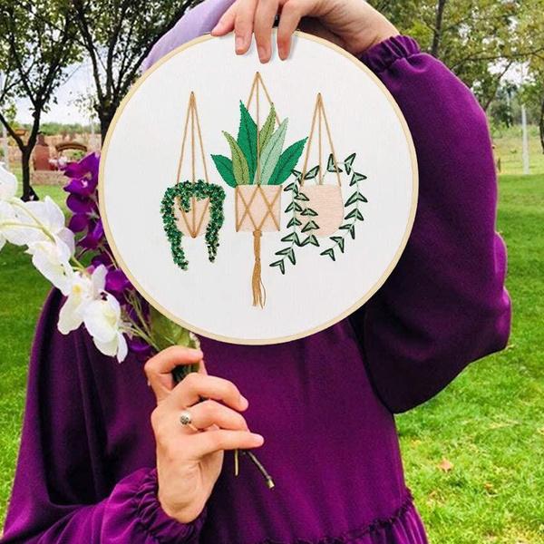 embroiderythread, Embroidery, homeembroiderydecor, embroiderykitset