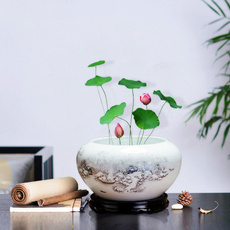 Turtle, Tank, Pot, Ceramic