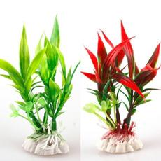 Plants, Flowers, Tank, fish