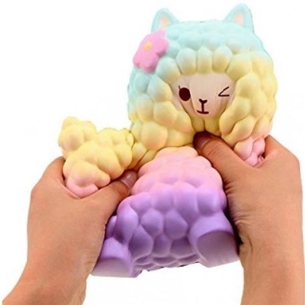 Sheep, cute, squeeze, alpaca