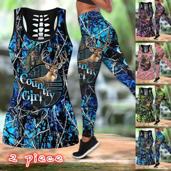 Summer, Fashion, Women Set, Deer