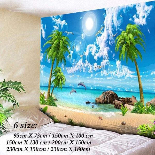 decoration, treetapestry, Wall Art, beachtapestry