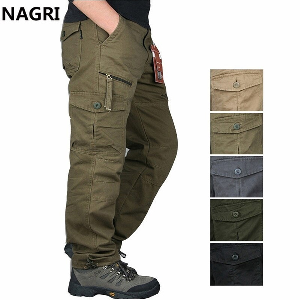 Multi, trousers, Army, Straight