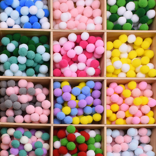 handicraft, pompomsball, pompom, fluffy