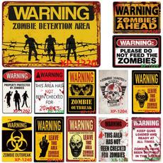 Decor, warningsign, Wall Posters, Giclee Wall Art