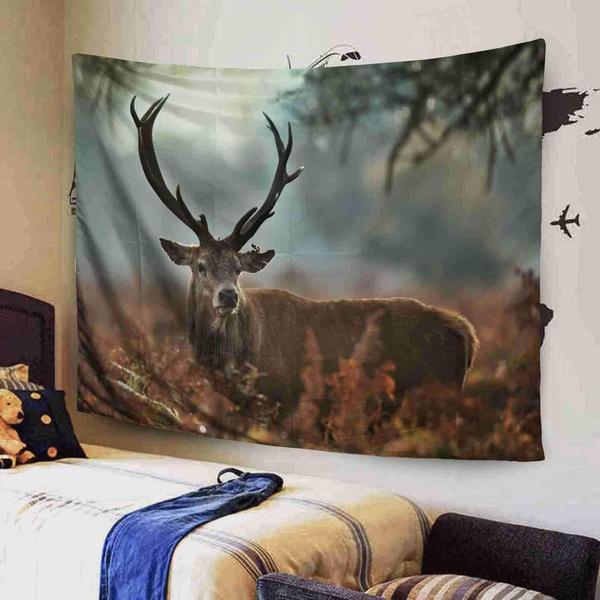 Home Decor, gold, dormdecor, Deer