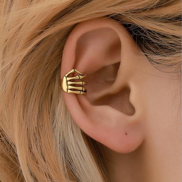 Jewelry, punk style, punk earring, Clip