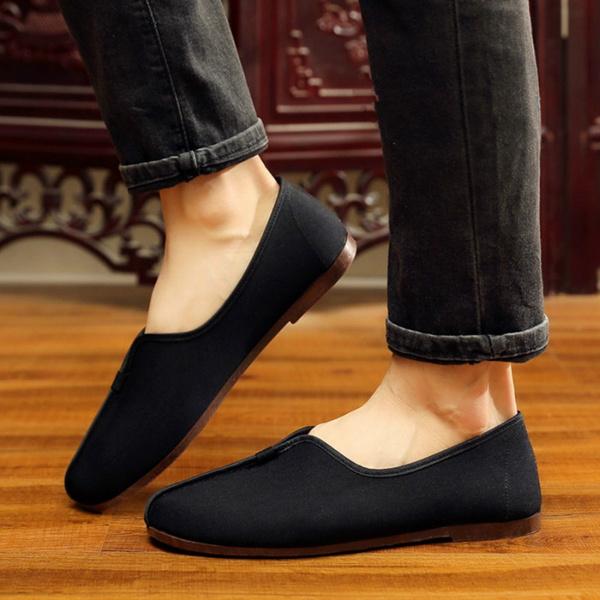 mencanvasshoe, art, Chinese, casual shoes for men