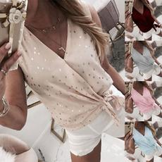 summerwear, Summer, casualshortsleeve, Large Size