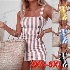 Mini, Fashion, Summer, Stripes