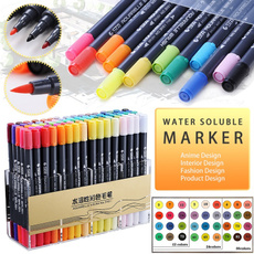 brushmarkerpen, brushmarker, Color, watercolormarker