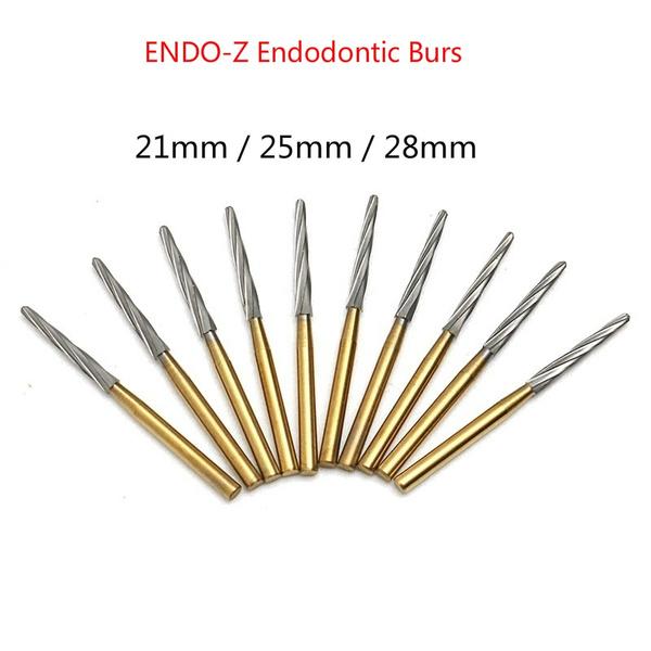 endodonticbur, rootcanal, titanium, dental