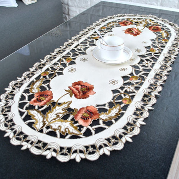 Floral, Lace, lacecover, Vintage