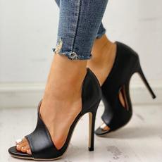 Summer, Sandalias, highheelsforwomen, Womens Shoes
